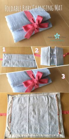 DIY: Foldable Baby Changing Mat
