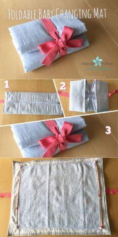 DIY: Foldable Baby Changing Mat