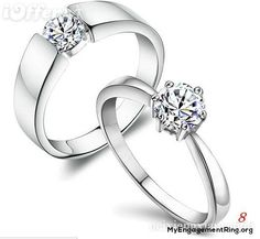 platinum and diamond engagement ring - My Engagement Ring