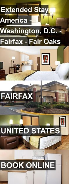 Hotel Extended Stay America - Washington, D.C. - Fairfax - Fair Oaks in Fairfax, United States. For more information, photos, reviews and best prices please follow the link. #UnitedStates #Fairfax #travel #vacation #hotel