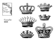 crowns for my tattoo... ;)