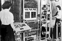 1944: British code breakers used The Colossus to decrypt coded German messages at the end of World War II.