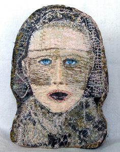 Monica Bohlmann via kioskderdemokratie and Contemporary Embroidery.