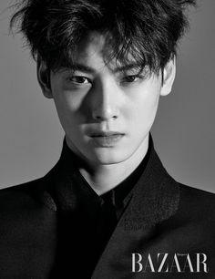 Eunwoo (Astro) - Harper's Bazaar Magazine May Issue Kpop, Kim Myungjun, Cha Eunwoo Astro, Lee Dong Min, Handsome Korean Actors, Joo Hyuk, Sanha, Look Magazine, Kdrama Actors