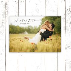 Save The Date Postcard, Photo Save The Date, Classic Save The Date, Simple Save the Date
