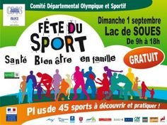 Fête du sport, santé, bien être en famille 2013 !! #Tarbes
