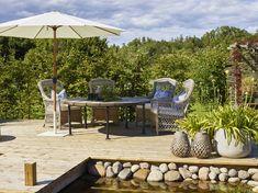 Hjemme hos Halvor Bakke   Bohus Garden Inspiration, Countryside, Patio, Outdoor Decor, Beautiful, Home Decor, Houses, Decoration Home, Terrace
