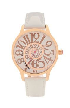 Betsey Johnson watch; I don't like watches, but I'd definetly wear this :)