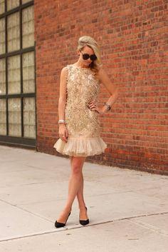 Atlantic Pacific Dress: Red Valentino. Shoes: Zara (old). Jewels: Borrowed from David Yurman.Sunglasses: Karen Walker 'Number One'.
