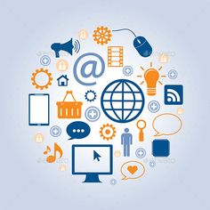 Communication and Business with the Internet by cifotart communication of business with the internet and social networks