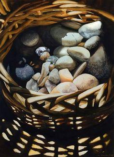 BRUSH - PAPER - WATER:  Sue Johnston, hyper realistic watercolor