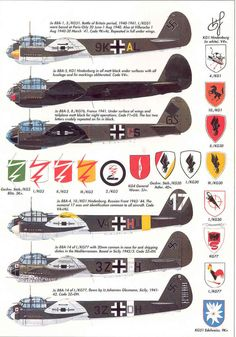 1936 - 1951. Junkers Ju 88 Luftwaffe, Multi-role combat aircraft. Engine: 2 x…