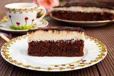 Bounty szelet 30 perc alatt – mennyei kókuszkrém és nagyon csokis süti, ennél ízletesebb finomság nincs! :)