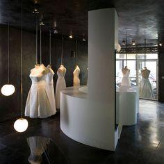 Hila Gaon bridal store by k1p3 - Dezeen    http://www.dezeen.com/2009/09/15/hila-goan-bridal-store-by-k1p3/