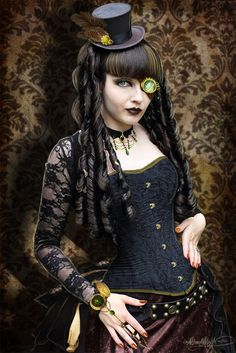 Steampunk Anime Girl