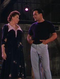 Gene Kelly and Judy Garland in Summer Stock