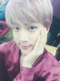 Jin ❤ BTS 'try to be like J-Hope' on Fancafe #BTS #방탄소년단