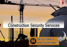 Correx provides all kinds of Construction Security Services.Our Security Services include CCTV live monitoring and installation of electronic devices.