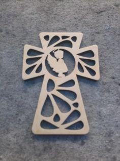 10 cruces para souvenir fibrofacil mdf comunion bautismo