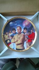 Star Trek 25th Anniversary Commemorative Collection Plate  Hamilton