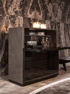Home Bar Cabinet, Drinks Cabinet, Mini Bar At Home, Bars For Home, Bar Furniture, Cabinet Furniture, Alcohol Cabinet, Home Cocktail Bar, Diy Storage Cabinets