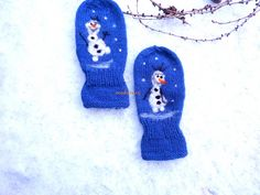 Ravelry: mabe58's olaf mittens
