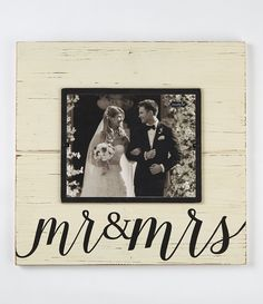 Shop for Mud Pie Wedding Mr Mrs Distressed Wood Frame at Dillard's. Visit Dillard's to find clothing, accessories, shoes, cosmetics more. The Style of Your Life. Best Engagement Gifts, Engagement Frames, Wedding Wishlist, Wedding Frames, Mud Pie, How To Distress Wood, White Wood, Holidays And Events, Living Room Designs