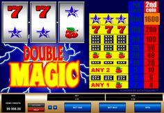 Double Magic on valtava Microgaming kolikkopeli netissä! Pelissa on varmasti mahdolisuus jokaisille pelajaalle voitta isot voitot kun aloitat pelata tämän hyvää kolikkopeli netissä. Kolikkopelissa on hyvää grafiikka, 3 rullat ja 1 voittolinja.