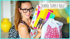 Back To School Supplies Haul 2014 ♡ alisha marie