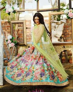 Beautiful mehndi outfits for this wedding season