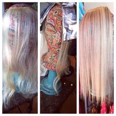 My girl got some low lights!!!! Extensions! Love what I do!#hair#kayshairr