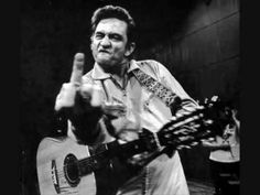 Johnny Cash.  Folsom Prison Blues.  I Love Johnny.   I live in Folsom.  Gotta love this song.