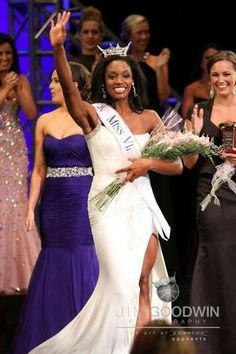 HU Graduate Student Crowned Miss Virginia 2013 : Hampton University News