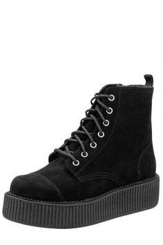 Black Suede Viva Mondo Boots