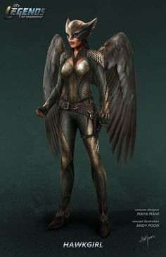 Legends of Tomorrow Hawkgirl costume concept