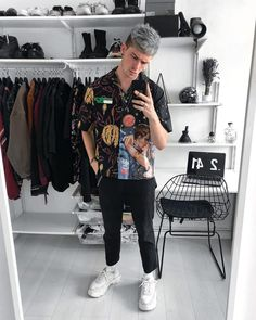 Praises due to the most fly, prada. Wish list and beautiful styles from gallucks for designer shoes, bags, and cloth! Double Denim Fashion, Plaid Fashion, Blazer Fashion, 80s Fashion, Gloves Fashion, Formal Fashion, Office Fashion, Male Fashion, Fasion