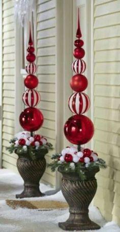 Kerstballen stapelen