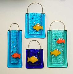 fused pocket glass fish