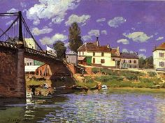 alfred sisley | Alfred Sisley – Pintor Francês