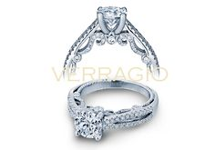 INSIGNIA-7073R engagement ring from The Insignia Collection of diamond engagement rings by Verragio