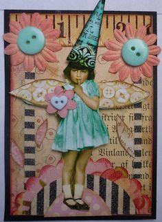 whimsical fairy swap ATC