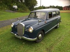 Claimed Ex-Nurburgring Service Car: 1957 Mercedes-Benz 180D Binz