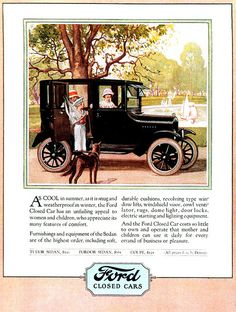1924 Ford Model T - Marketing to the ladies - View and read in larger size.