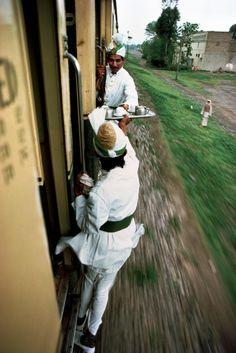 Dedicated service. Between Peshawar and Lahore, India