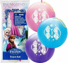 """Disney Frozen 14"""" Punch Ball Balloon"""