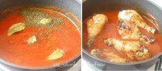 » Ostropel cu pui si ciuperciCulorile din Farfurie Thai Red Curry, Ethnic Recipes, Food, Chicken, Blue Prints, Essen, Meals, Yemek, Eten