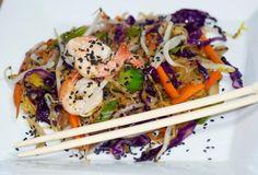 Spaghetti Squash Chow Mein #MyAwesomeFoods