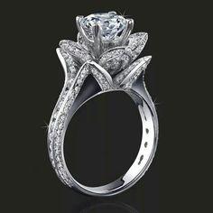 Amazing flower ring