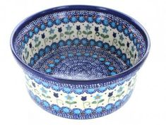 Polish Pottery Savannah Large Bowl *** Want additional info? Click on the image.(This is an Amazon affiliate link and I receive a commission for the sales)