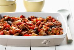 Make a traditional stew tonight with Quick Ratatouille. This ratatouille recipe is made with the freshest vegetables and will feed any appetite in your house. Polenta Recipes, Beef Recipes, Cooking Recipes, Importance Of Healthy Eating, Canadian Food, Canadian Recipes, Ground Beef Casserole, Whole Wheat Pasta, Wheat Free Recipes